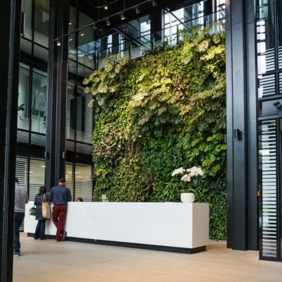Zielona-ściana-w-recepcji-biurowca-Eurocentrum-9.jpg